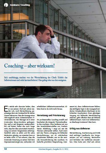 Cover zu Coaching - aber wirksam!