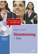 Cover zu Stimmtraining live - mit Hör-CD