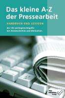 Cover zu Das kleine A-Z der Pressearbeit