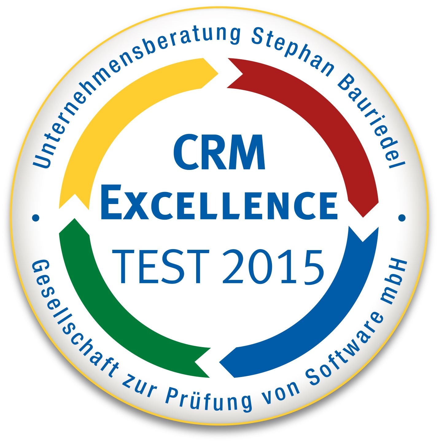 Cover zu Ergebnisse des CRM Excellence Tests auf der IT & Business 2015