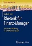 Cover zu Rhetorik für Finanz-Manager