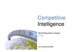 Cover zu Competitive Intelligence
