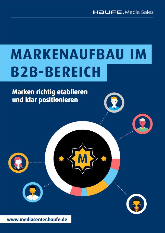 "Cover zu Whitepaper ""Markenaufbau im B2B-Bereich"""