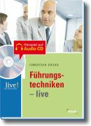 Cover zu Führungstechniken live - mit Hör-CD
