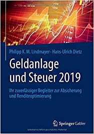 Cover zu Geldanlage und Steuer 2019