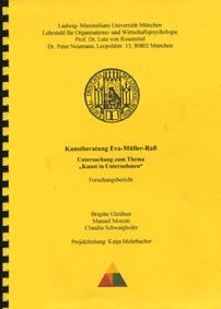 Cover zu Kunst im Unternehmen - Studie