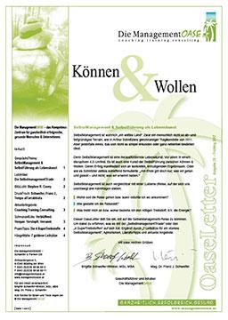 Cover zu Können & Wollen