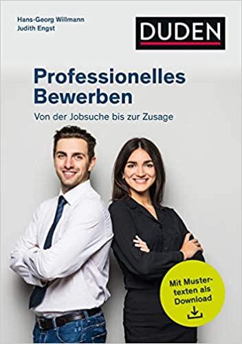 Cover zu Duden Ratgeber - Professionelles Bewerben: Von der Stellensuche bis zur Zusage