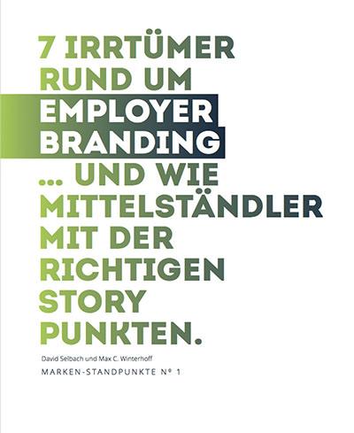 Cover zu 7 Irrtümer rund um Employer Branding