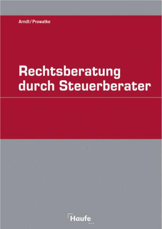 Cover zu Rechtsberatung durch Steuerberater