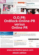 Cover zu O.O.PR: OnBlock-Online-PR versus Online PR