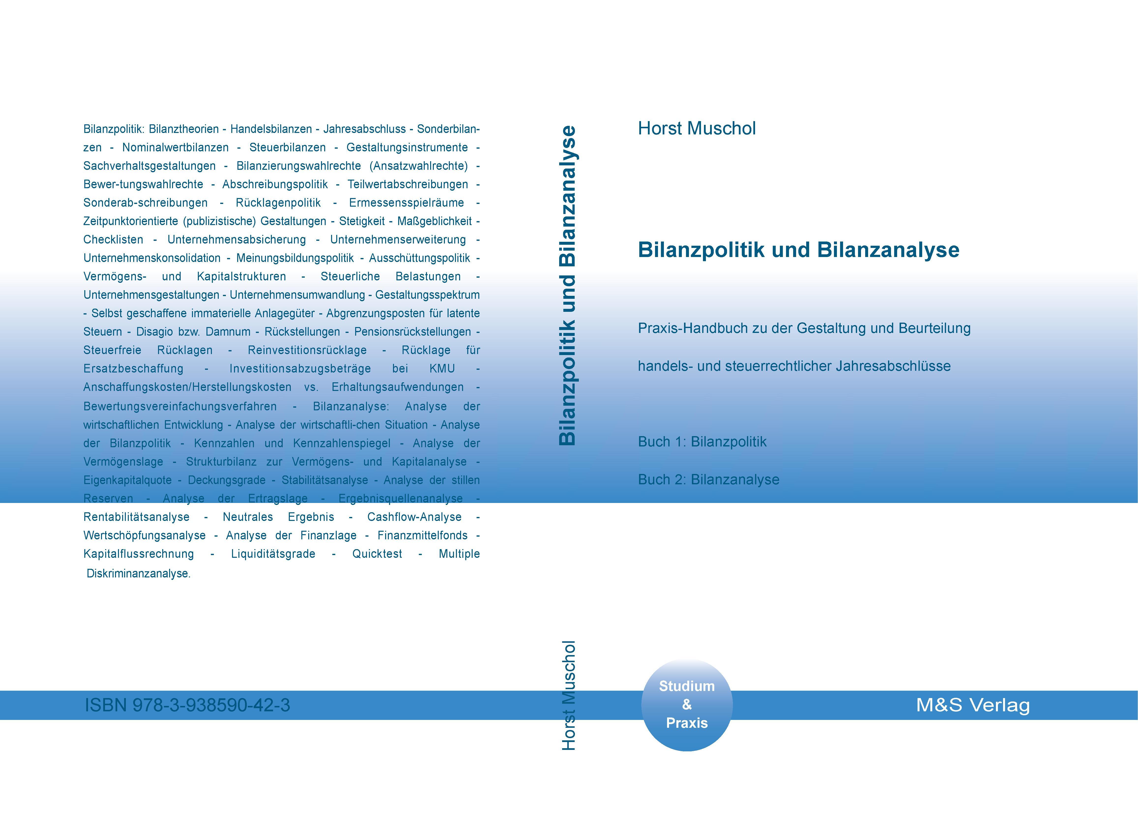 Cover zu Bilanzpolitik und Bilanzanalyse