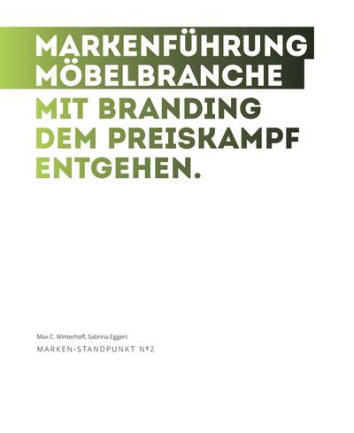 Cover zu Markenführung Möbelhandel
