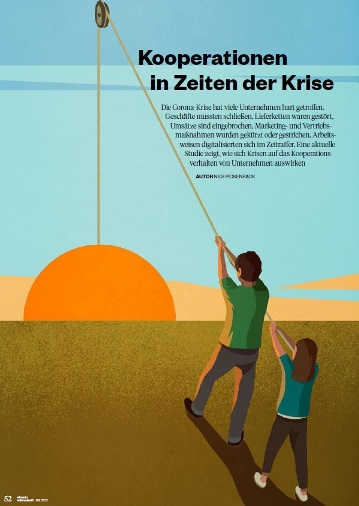 Cover zu Kooperationen in Zeiten der Krise