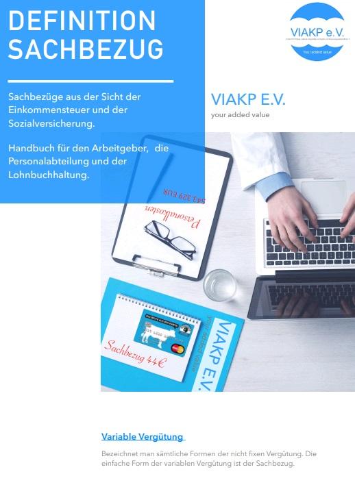 Cover zu Whitepaper - Leitfaden für die Personalabteilung für den Sachbezug an Mitarbeiter