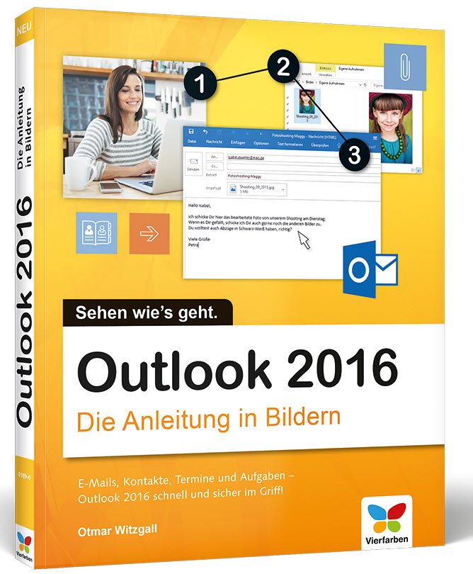 Cover zu Outook 2016