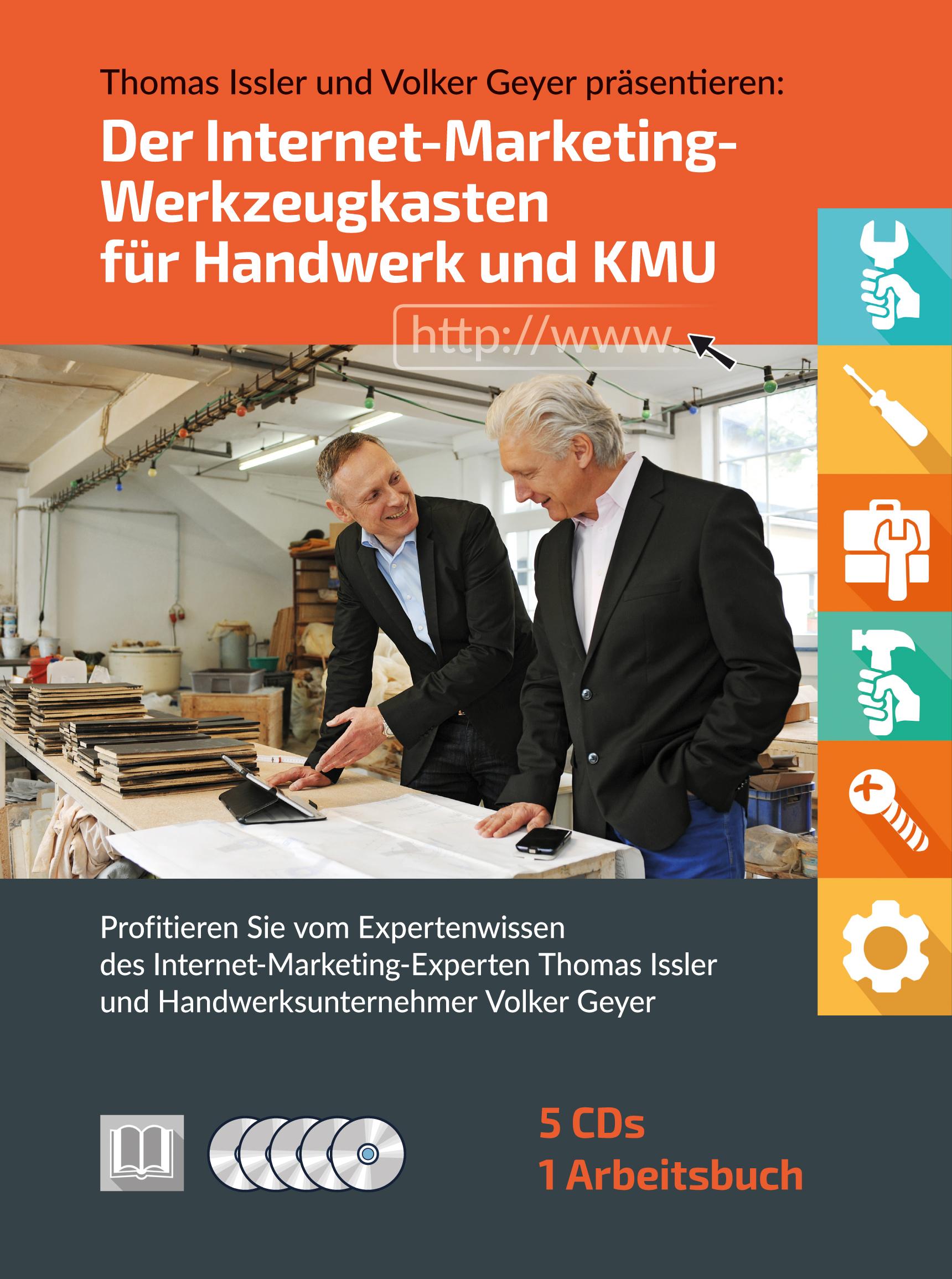 Cover zu Der Internet-Marketing-Werkzeugkasten für Handwerk und KMU CD-Box