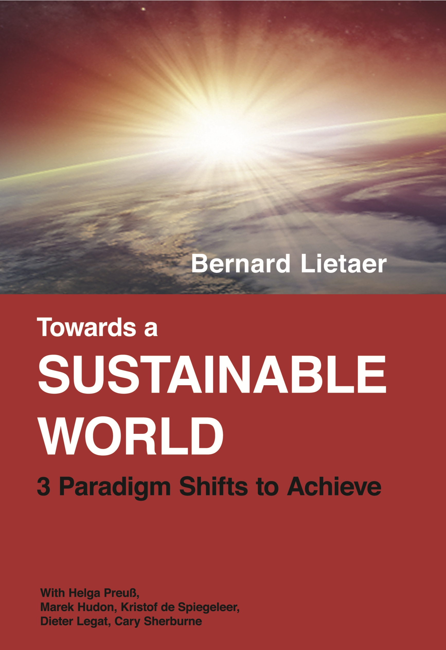 Cover zu Towards a sustainable world