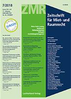 Cover zu Rezension: Aktuelles Gewerberaummietrecht von Dr. Rainer Burbulla