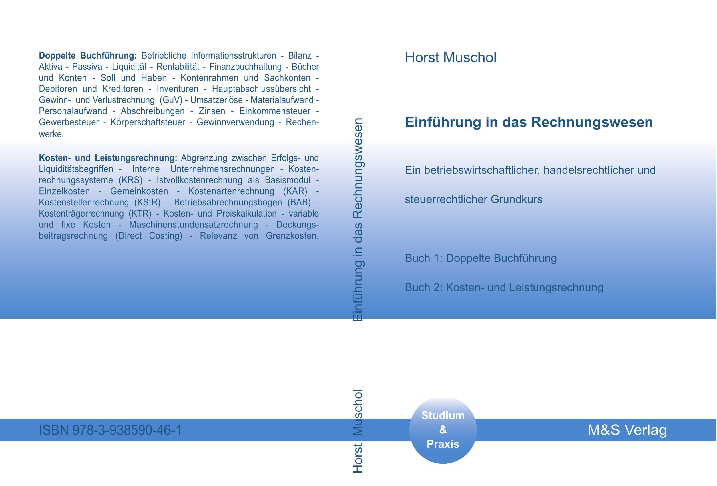 Cover zu Einführung in das Rechnungswesen