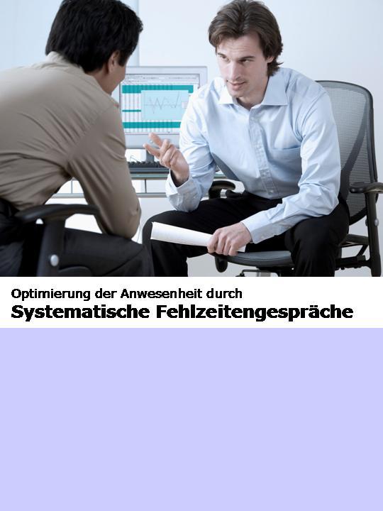 Cover zu Systematische Fehlzeitengespräche