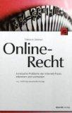 Cover zu Online-Recht