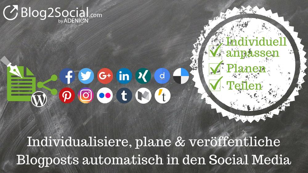 Cover zu Automatisches Planen und Teilen von Blogbeiträgen auf Social Media
