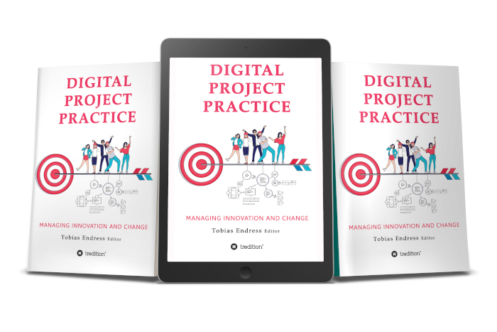 Cover zu Digital Project Practice: Managing Innovation and Change
