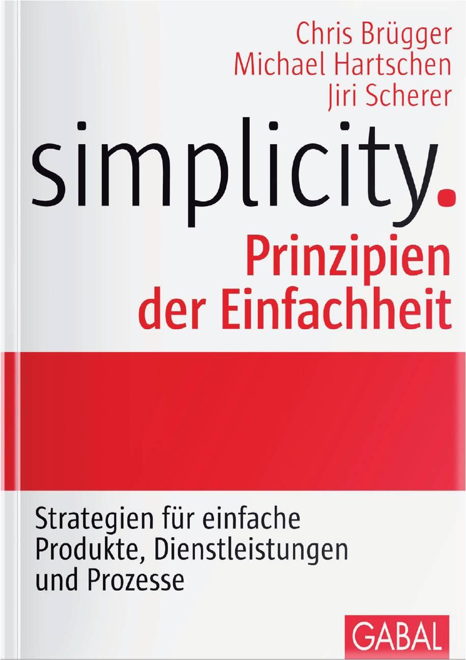 Cover zu Simplicity - Prinzipien der Einfachheit