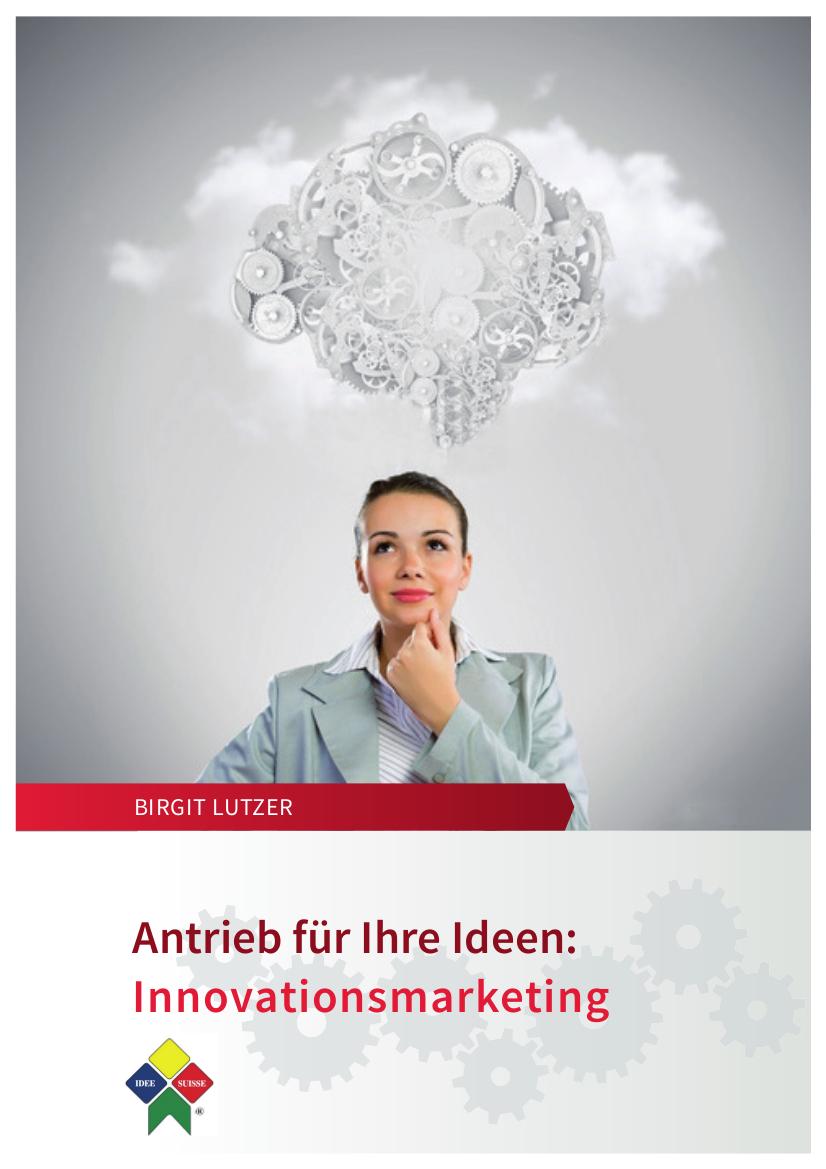 Cover zu Antrieb für Ihre Ideen - Innovationsmarketing