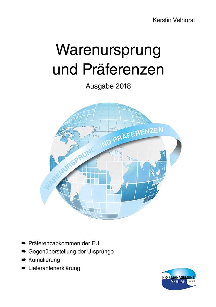 Cover zu Warenursprung und Präferenzen 2018