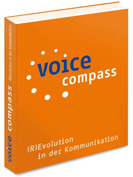Cover zu voice compass (R)Evolution in der Kommunikation